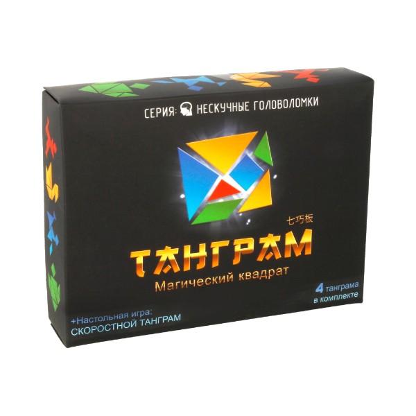 Настольная Танграм Магический квадрат Нескучные игры