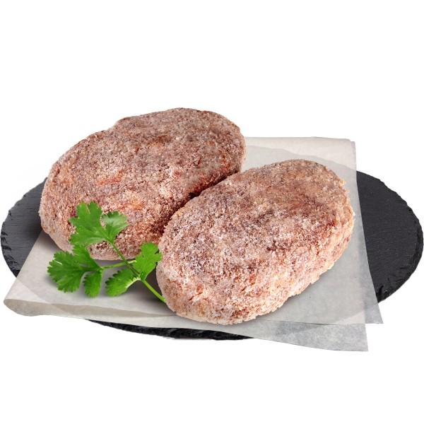 Шницель говяжий рубленый производство Макси