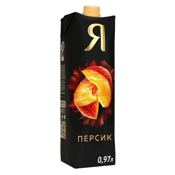 Нектар Я премиум 0,97л персик с мякотью