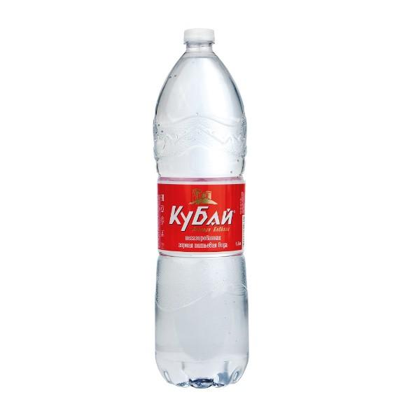Вода питьевая Кубай минеральная негазированная 1,5л