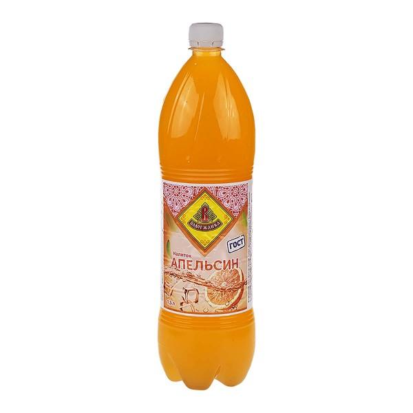 Напиток сильногазированный Апельсин Вологжанка 1,5л