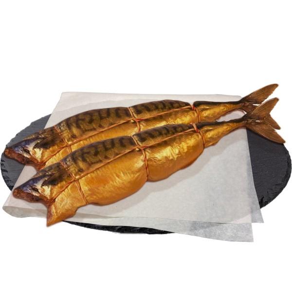 Скумбрия атлантическая потрошеная горячего копчения Арт-рыба