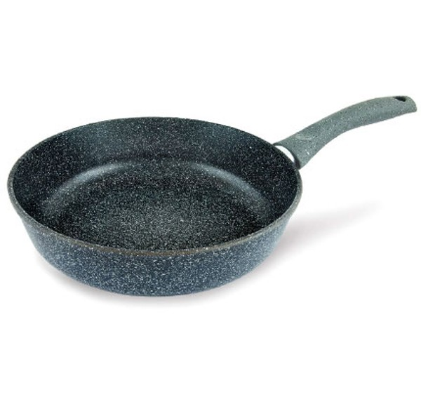 Сковорода литая с антипригарным покрытием Байкал Нева металл посуда 24см