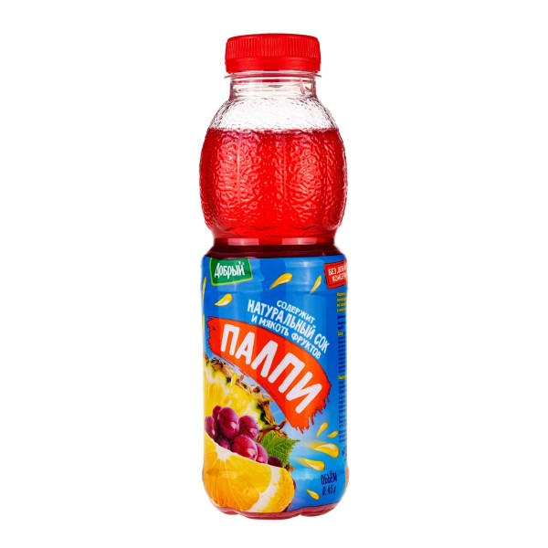 Напиток сокосодержащий Палпи Добрый 0,45л тропик