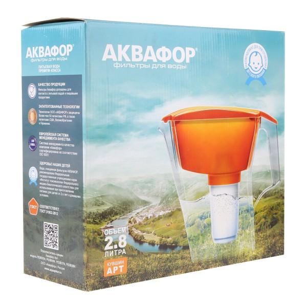 Фильтр-кувшин для воды Арт Аквафор 2,8л