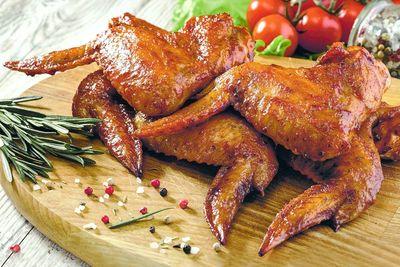 Крылышки куриные гриль