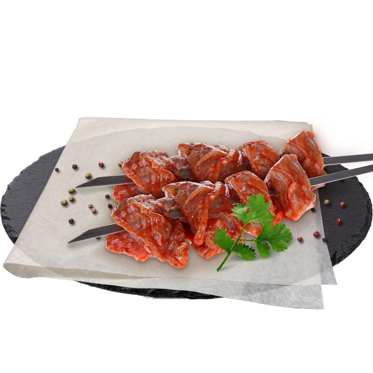 Полуфабрикат для шашлыка из свинины По-мексикански охладженный