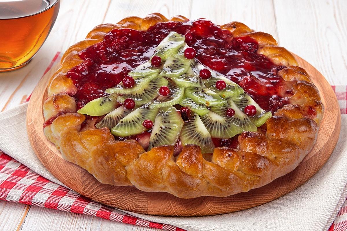 Пирог Фруктово-ягодный 450гр