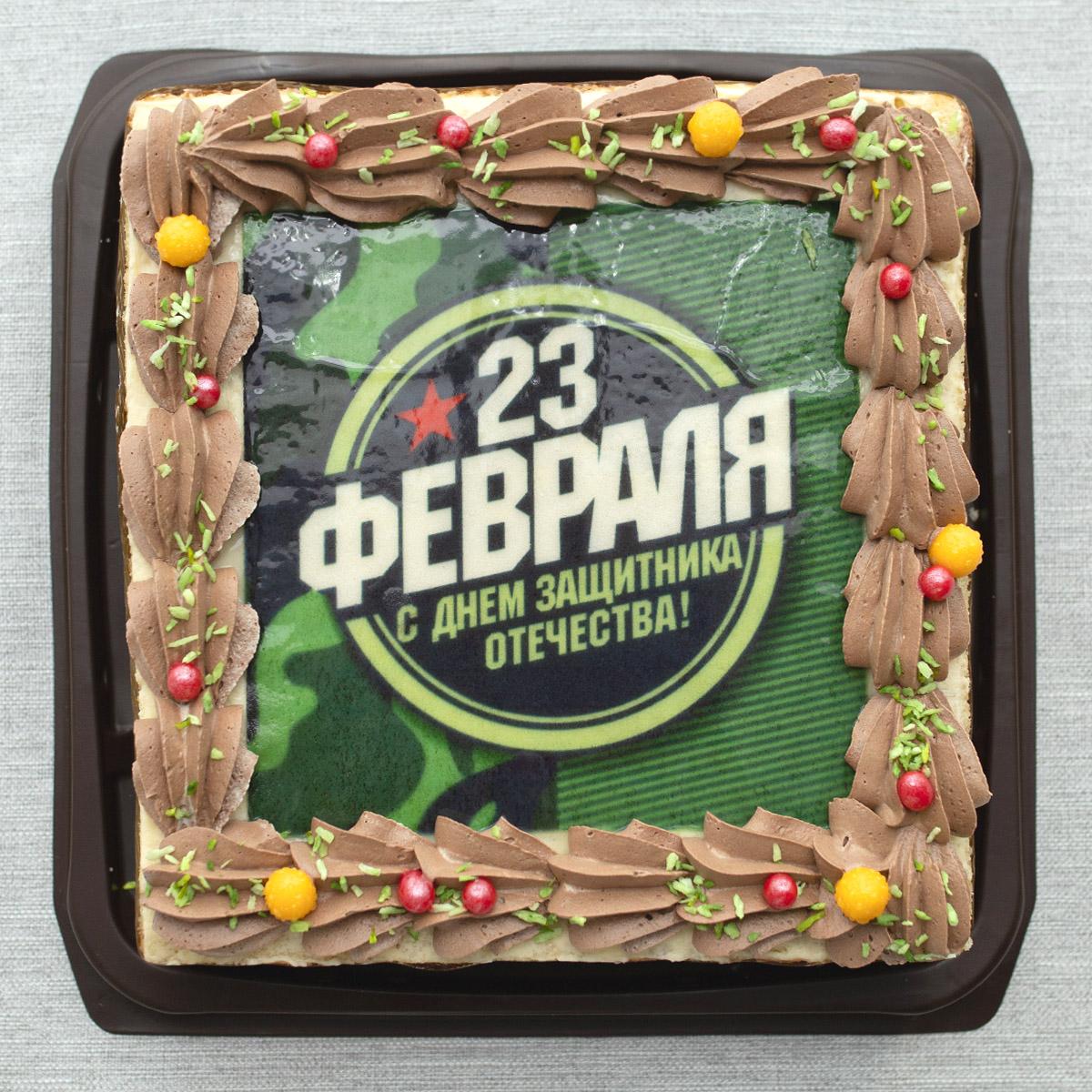 Торт «Праздничный» шоколадный, 1,2 кг