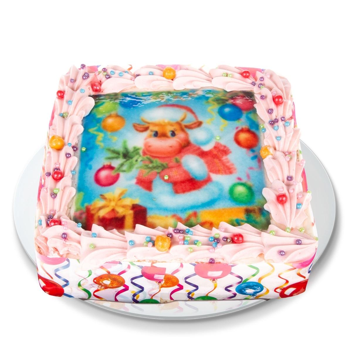Торт Новогодний 1,2 кг