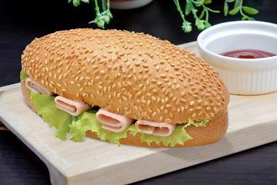 Сэндвич с ветчиной, 165гр
